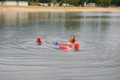 Wasserretterausbildung am Mainparksee 2014