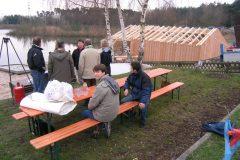 Einweihung Bootsschuppen 2006