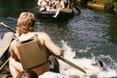 Bootstour Fränkische Schweiz 1990