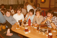 Feier im Schützenhaus 1982