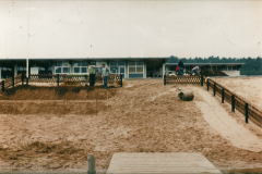Wachgelände im Bau 1975
