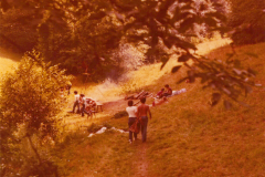 Zeltlager Schleifmühle 1977