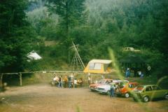 Zeltlager in Waldaschaff 1979