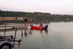 Probefahrt neues Motorboot 2007
